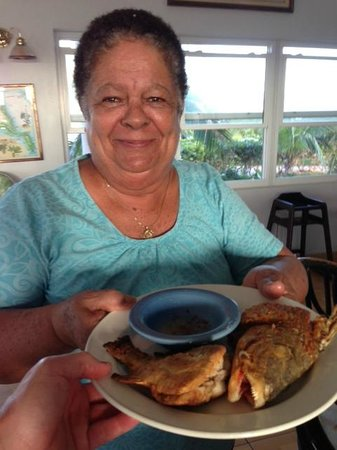 Winter Haven Inn:                   Chloe cooked my catch-- She's wonderful!