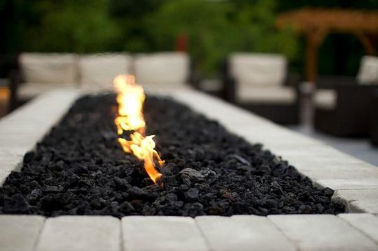 Geneva Ridge Resort: Firepit
