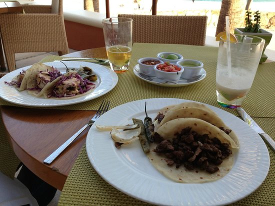 Hilton Los Cabos Beach &amp; Golf Resort:                   Light lunch from one of the restaurants by the pool