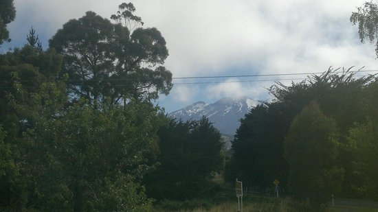 Tussock Grove Boutique Hotel: View from our room