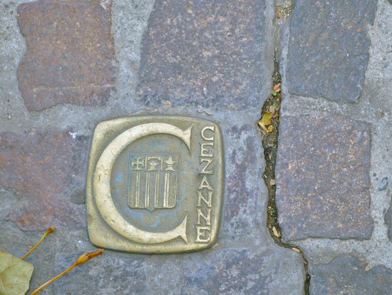 Tour Designer in Provence Private Tours:                                     these are embedded in the cobblestones all around Aix