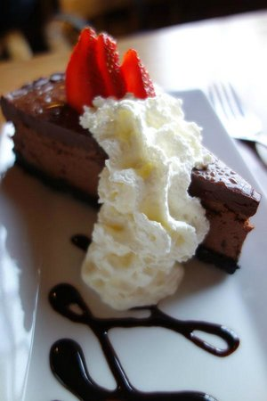 Chester, Kanada: the chocolate cheesecake dessert