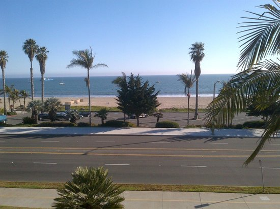 Hyatt Santa Barbara:                   My View from the 3rd floor