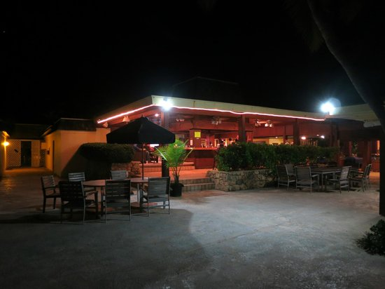 The Palms at Pelican Cove:                   The Palms Bar, our favorite place for a drink
