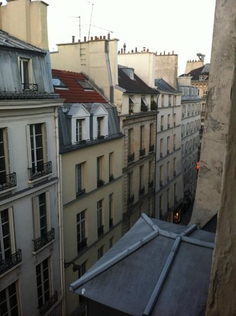 Hotel Odeon Saint-Germain:                   View from the room