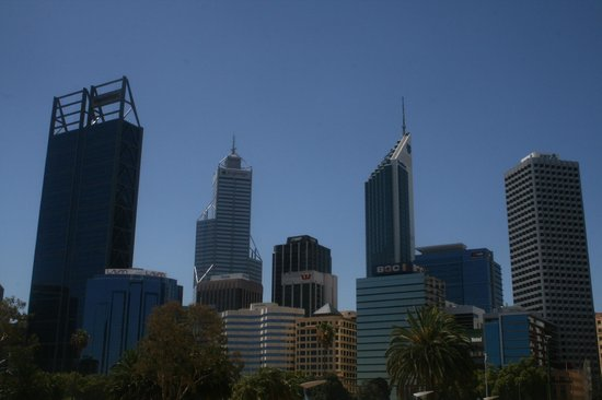 :                   Perth Business District