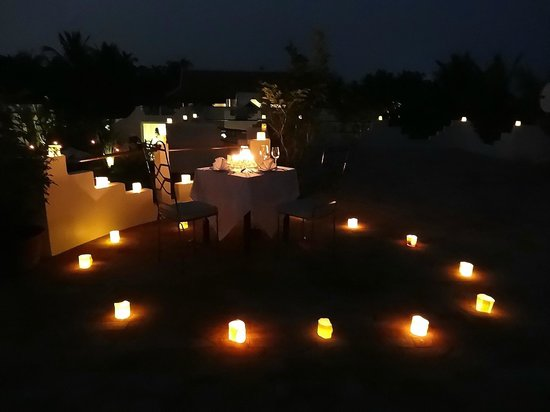 Navutu Dreams Resort &amp; Spa:                   Roof dinner