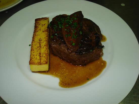 Filet de boeuf rossini frite de polenta sauce au foie gras picture of nancy meurthe et - Vin rossini ...
