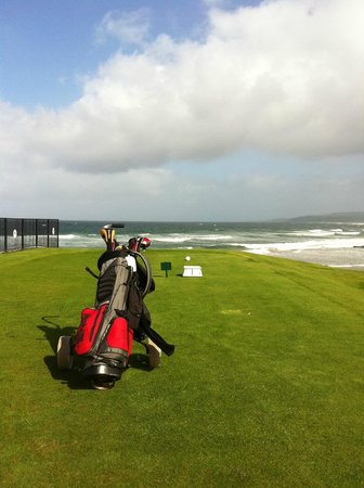 The Ugadale Hotel & Cottages:                                     Golfing