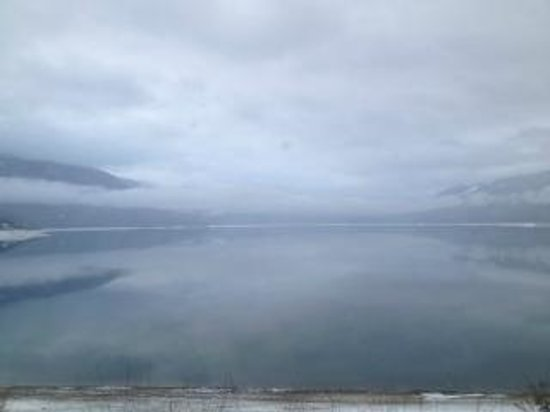 Nakusp, Kanada:                   View of Lake from room