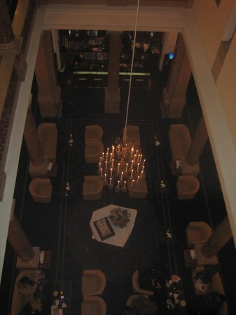 Hotel Ambassador:                   Bar from outside the lift on 3rd Floor