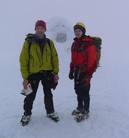 Torlundy House:                   Ben Nevis summit enjoyed during our stay at Torlunday House.