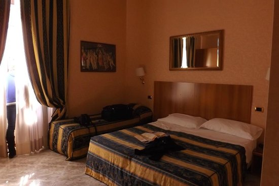 Amalia Hotel:                   Two bed room