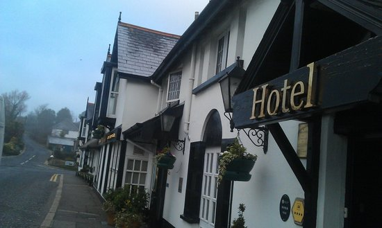 The Old Inn Crawfordsburn:                   Hotel Outside