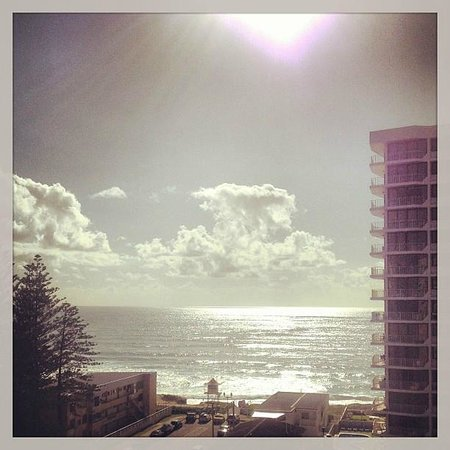 Warringa Surf Apartments:                   The View