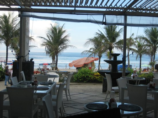 Puri Raja:                   Lovely view from breakfast room