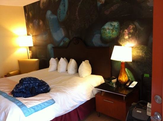 Hotel Indigo San Antonio Riverwalk:                   Spacious modern rooms.