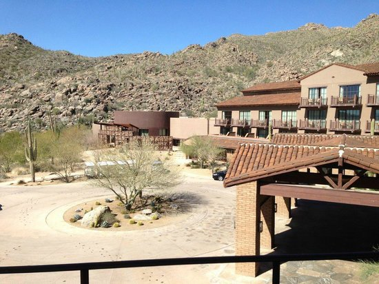 The Ritz-Carlton, Dove Mountain:                                     Room 4905 - Not a great view