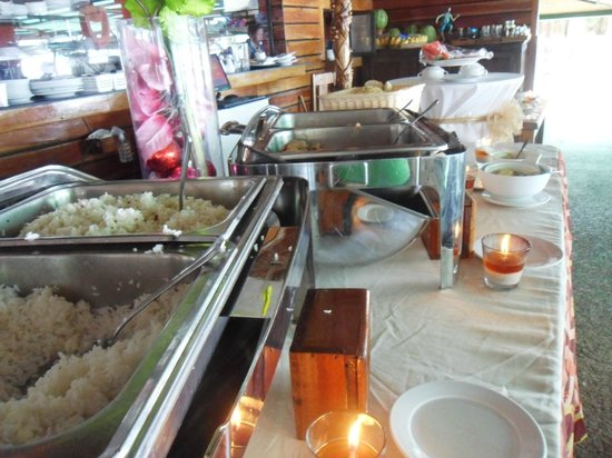 Dumaluan Beach Resort 2:                   breakfast buffet