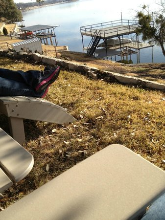 Inn on Lake Granbury :                   Relaxing afternoon!