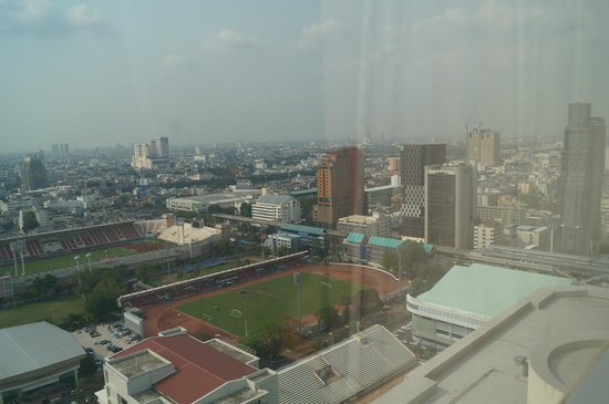 Pathumwan Princess Hotel:                   View from 26th Floor
