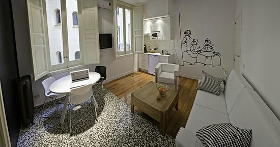 Apartamentos Turisticos Las Letras: One-bedroom apartment  (kitchen/living-room area)