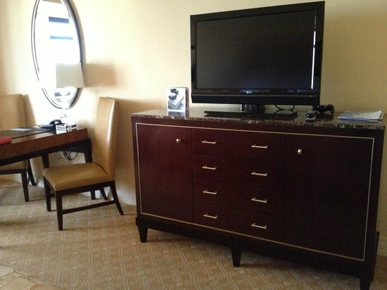 The Ritz-Carlton, Denver:                   The large TV