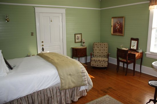 Our room, Mountain Rose Inn