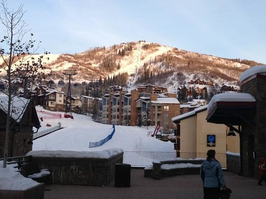 Highmark Steamboat Springs:                                     the mountain is right there