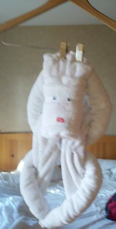 Heathman Lodge Towel Monkey.