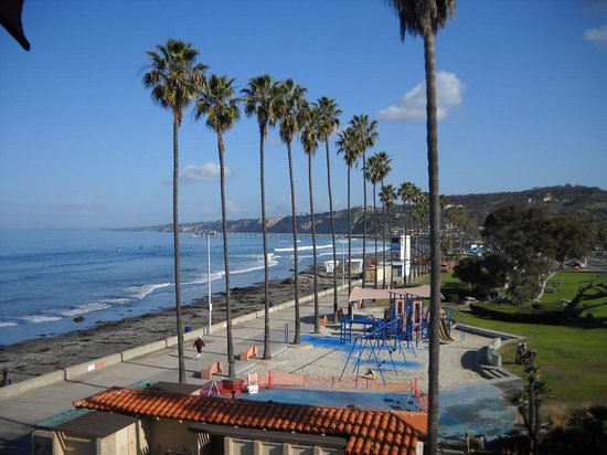 La Jolla Shores Hotel:                   View from Coastal room