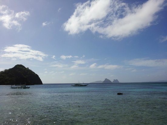 El Nido Resorts Apulit Island:                                     View from our hut I