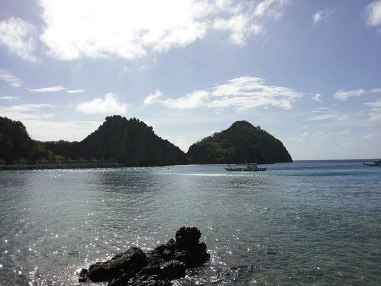El Nido Resorts Apulit Island:                                     View from our hut II