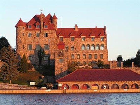 Photo of Singer Castle on Dark Island Chippewa Bay