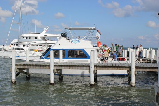 Transport from Belize City to Turneffe Flats