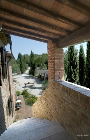 Buonconvento, Wochy: l&#39;esterno dell&#39;agriturismo