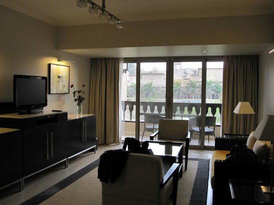 Mena House Hotel:                   our suite with stunning views