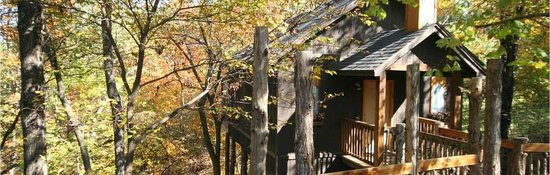 Oak Crest Cottages and Treehouses Photo