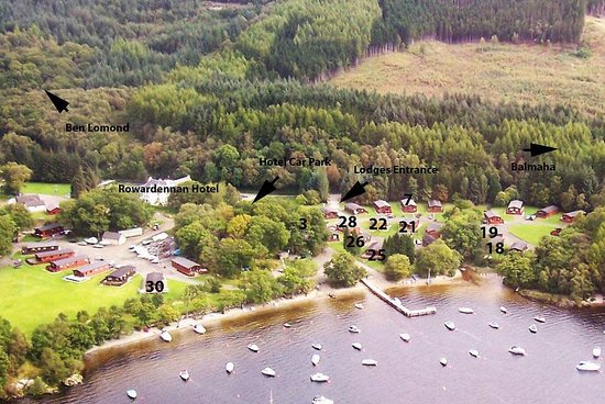 Foto de Rowardennan Lodge