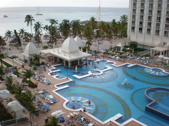 From room picture of hotel riu palace aruba palm eagle beach