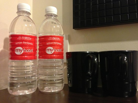 My Hotel @ Sentral: Comp Drinking Water