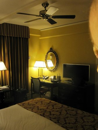 The Inn at Union Square:                   Our room