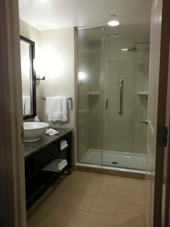 Embassy Suites by Hilton Palmdale:                   Nice bathroom