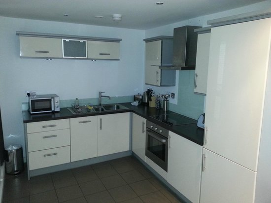 Staycity Serviced Apartments Laystall St:                   kitchen