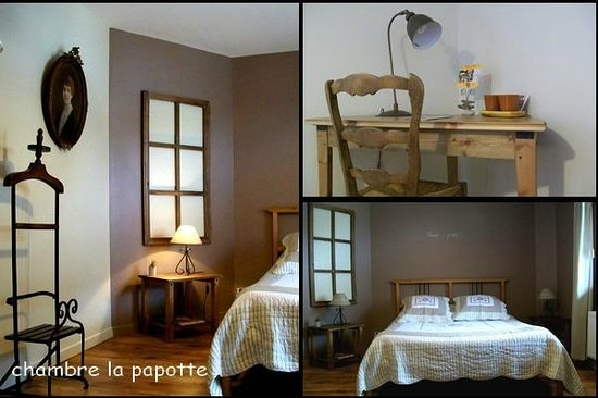 Chambres d&#39;hotes Soleil et Cacao: chambre papotte