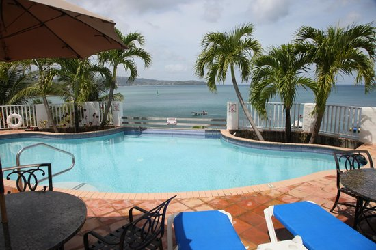 Windjammer Landing Villa Beach Resort:                   Private pool area