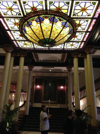 The Driskill:                   Lobby