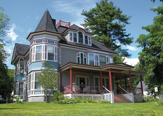 Bristol, NH: The Henry Whipple House in Summer
