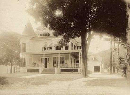 Bristol, NH: The Henry Whipple House in 1904