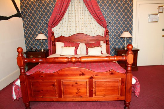 The Bell Hotel:                   bed